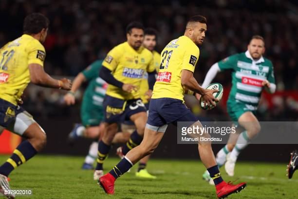 Peter Betham of Clermont during the Top 14 match between Pau and Clermont on December 23 2017 in Pau France