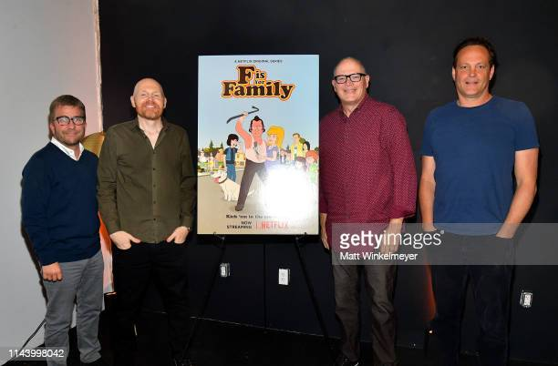 Peter Billingsley Bill Burr Michael Price and Vince Vaughn attend the Netflix Adult Animation QA and Reception on April 20 2019 in Hollywood...