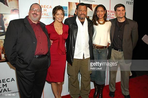 Peter Block Touriya Haoud Laurence Fishburne Gina Torres and Jason Constantine