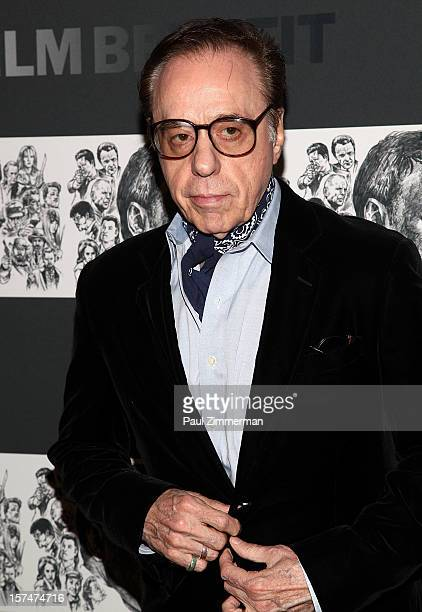 Peter Bogdanovich attend A Tribute To Quentin Tarantino at MOMA on December 3 2012 in New York City Photo by Paul Zimmerman/