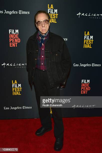 Peter Bogdanovich attends the screening of 'The Great Buster' during the 2018 LA Film Festival at ArcLight Culver City on September 23 2018 in Culver...