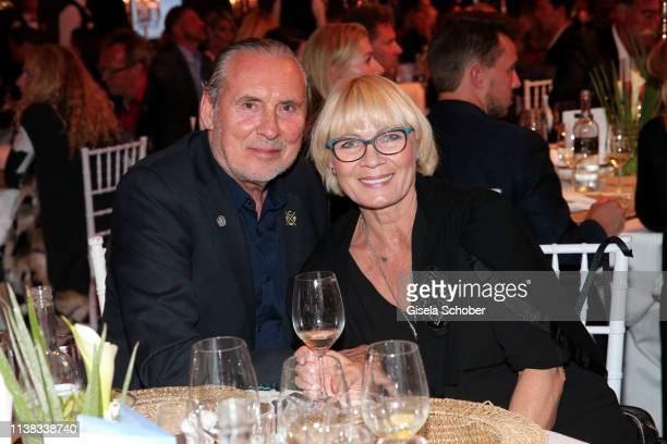 Peter Bond and his girlfriend Luba Kelakawska during the FCR EAGLES Masters Toscana golf tournament Dinner of FalkRaudies FCR Immobilien AG at Hotel...