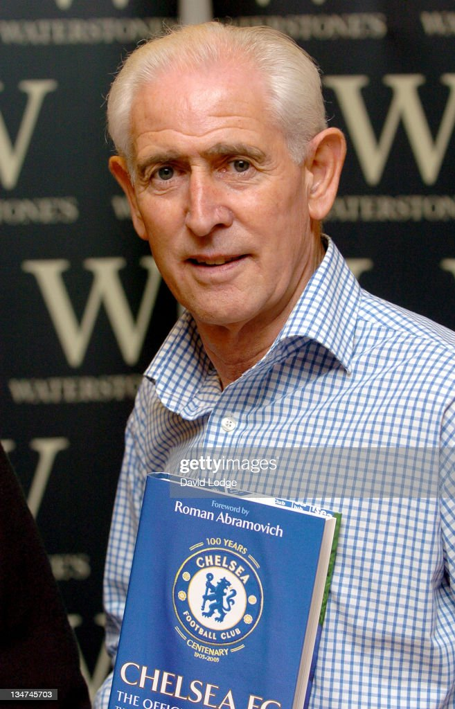 Peter Bonetti during Former Chelsea Players Sign Copies of 'Chelsea