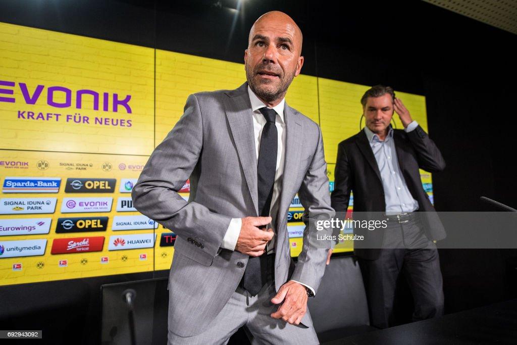 Borussia Dortmund Unveils New Signing Head Coach Peter Bosz