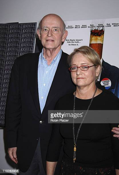 "Peter Boyle and wife Loraine during ""Thank You For Smoking"" New York Premiere - Inside Arrivals - March 12, 2006 at Museum of Modern Art in New York..."