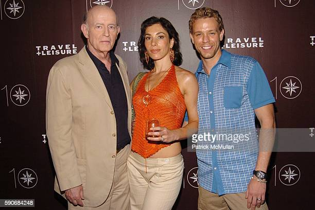 Peter Boyle Cybele Pascal and Adam Pascal attend TRAVEL LEISURE Magazine's World's Best Awards 2005 Party at Skylight Studios on July 14 2005 in New...
