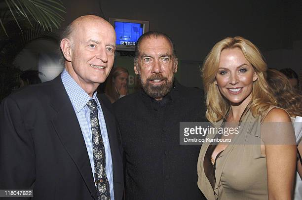 Peter Boyle John Paul DeJoria founder of John Paul Mitchell Systems Hair Care and his wife Eloise DeJoria