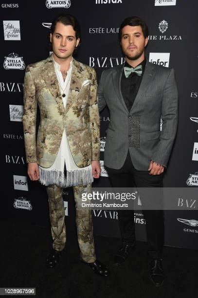 Peter Brant and Andrew Warren attends as Harper's BAZAAR Celebrates 'ICONS By Carine Roitfeld' at the Plaza Hotel on September 7 2018 in New York City