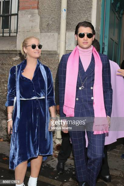 Peter Brant attends the Valentino show as part of the Paris Fashion Week Womenswear Spring/Summer 2018 on October 1 2017 in Paris France