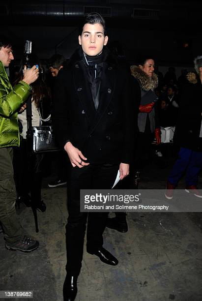 Peter Brant II attends the Alexander Wang Fall 2012 fashion show during MercedesBenz Fashion Week at Pier 94 on February 11 2012 in New York City