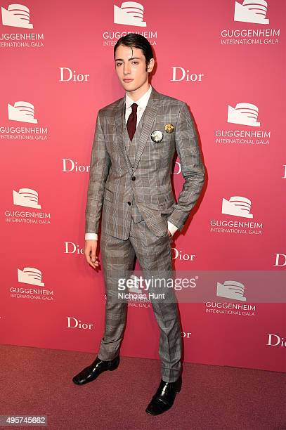 Peter Brant Jr attends the 2015 Guggenheim International Gala PreParty made possible by Dior at Solomon R Guggenheim Museum on November 4 2015 in New...