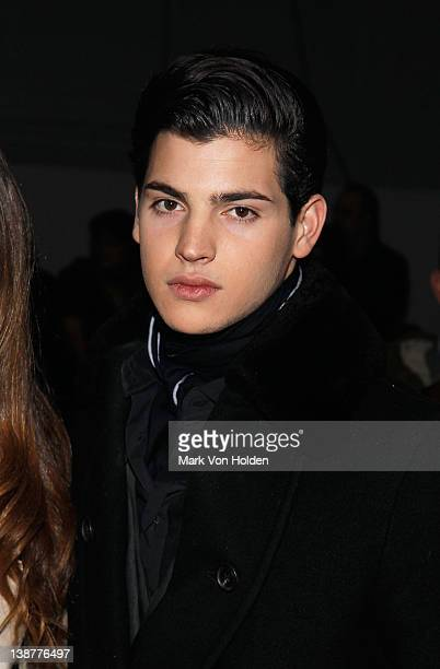 Peter Brant Jr attends the Alexander Wang fall 2012 fashion show at Pier 94 on February 11 2012 in New York City
