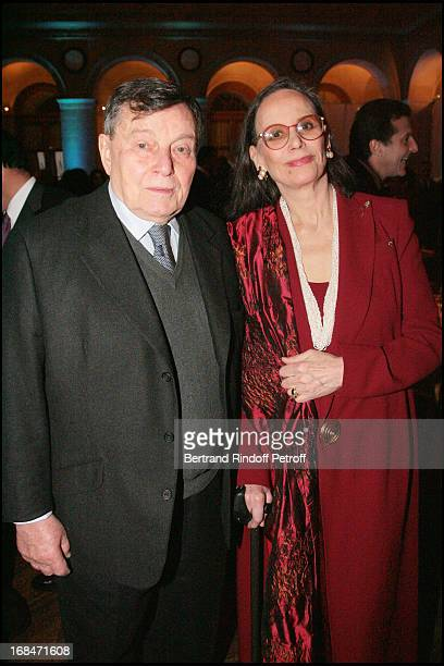 Peter Brent and Claudine Auger at The Gala Scopus Award 2007 Organised By L' Universite Hebraique De Jerusalem At Palais Brongniart