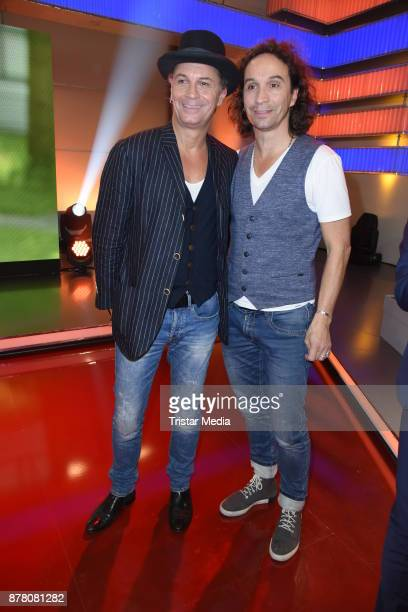 Peter Brings and his brother Stephan Brings attend the RTL Telethon 2017 on November 23 2017 in Huerth Germany