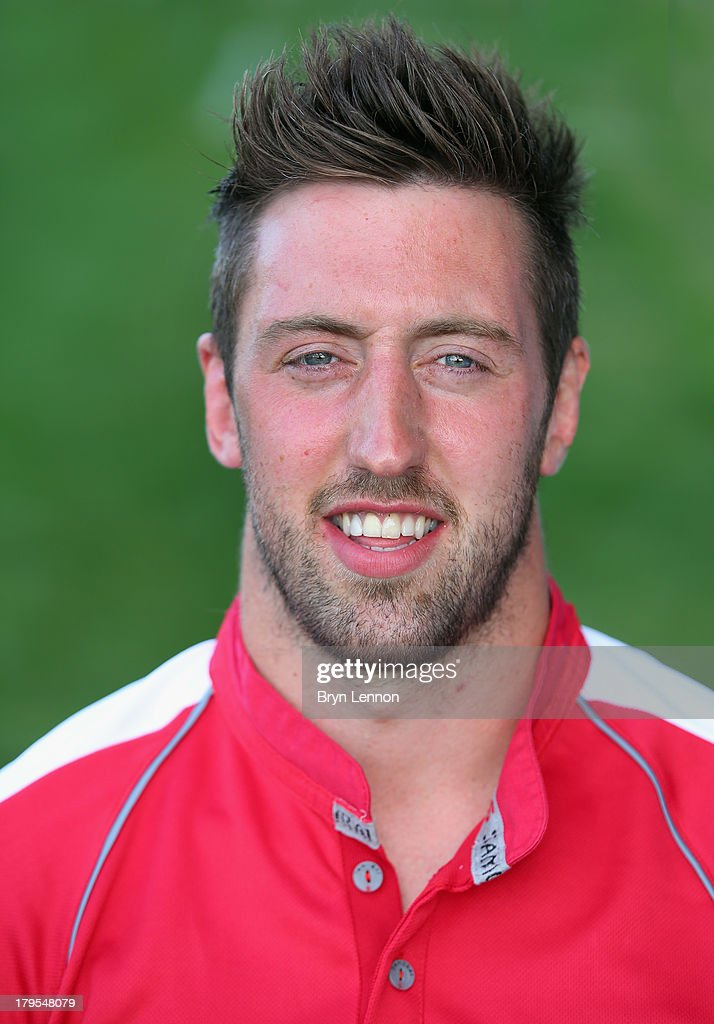 Peter Browne of London Welsh poses for a portrait during a London Welsh Media Day at Kassam Stadium on September 4, 2013 in Oxford, England.
