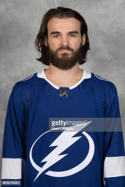 Peter Budaj of the Tampa Bay Lightning poses for his official headshot for the 20172018 season on September 14 2017 at Amalie Arena in Tampa Florida