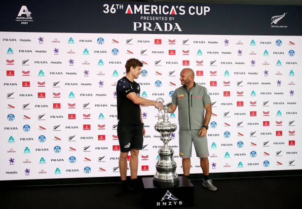 NZL: America's Cup Press Conference