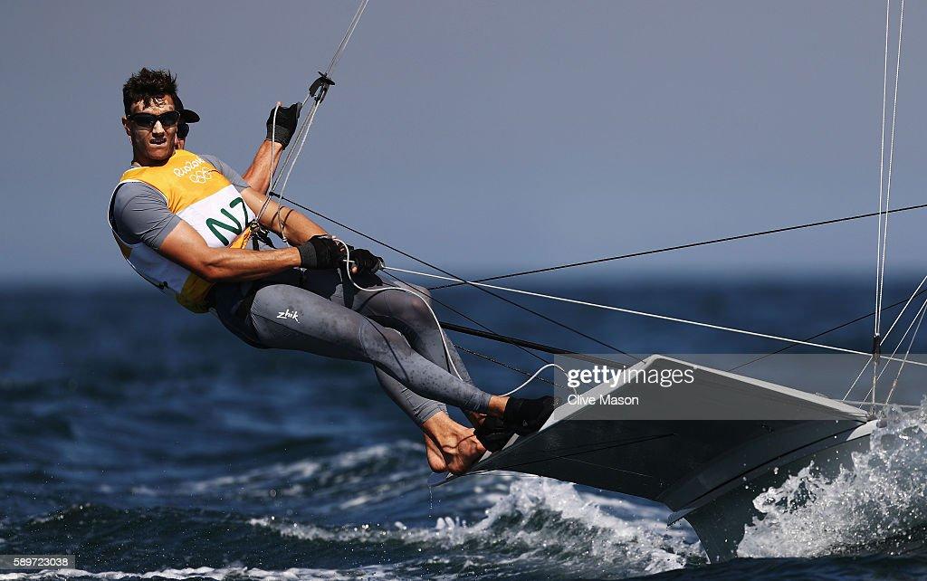 Sailing - Olympics: Day 10 : News Photo