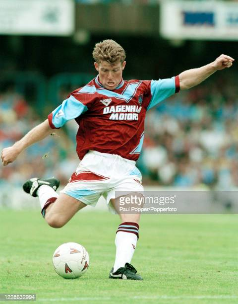 Peter Butler of West Ham United in action during the FA Carling Premiership match between Coventry City and West Ham United at Highfield Road on...