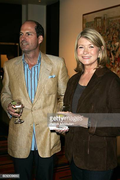 Peter Callahan and Martha Stewart attend MARTHA STEWART SIRIO MACCIONI and ANDREW BORROK Host a Lucheon to Celebrate 'NO RESERVATIONS' at Le Cirque...