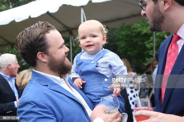 Peter Campbell and James Campbell attend the 12th Annual Get Wild Summer Benefit on June 23 2018 in Southampton New York