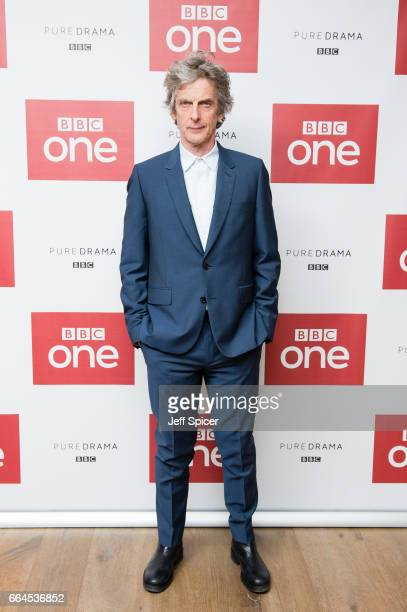 Peter Capaldi attends a photocall before the screening of the first episode of Series 10 of Doctor Who at the Ham Yard Hotel on April 4, 2017 in...