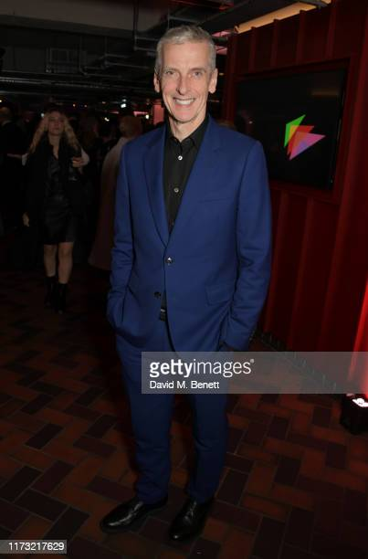 """Peter Capaldi attends an after party for the 63rd BFI London Film Festival Opening Night Gala screening of """"The Personal History Of David..."""