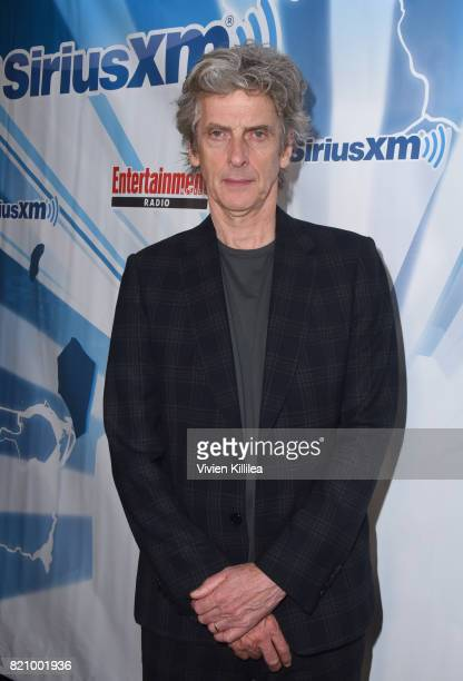 Peter Capaldi attends SiriusXM's Entertainment Weekly Radio Channel Broadcasts From Comic Con 2017 at Hard Rock Hotel San Diego on July 22 2017 in...