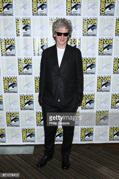 Peter Capaldi attends the Doctor Who press line at ComicCon International 2017 on July 23 2017 in San Diego California