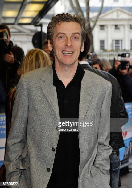 Peter Capaldi attends the gala premiere of 'In The Loop' at Curzon Mayfair on April 1 2009 in London England