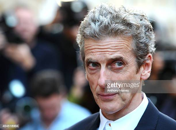 Peter Capaldi attends the GQ Men of the Year awards at The Royal Opera House on September 2 2014 in London England