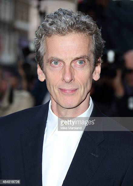 Peter Capaldi attends the GQ Men of the Year awards at The Royal Opera House on September 2, 2014 in London, England.