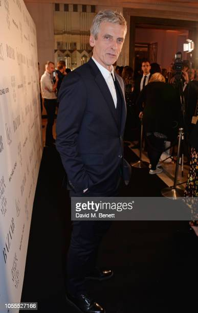 Peter Capaldi attends the Harper's Bazaar Women Of The Year Awards 2018 in partnership with Michael Kors and MercedesBenz at Claridge's Hotel on...
