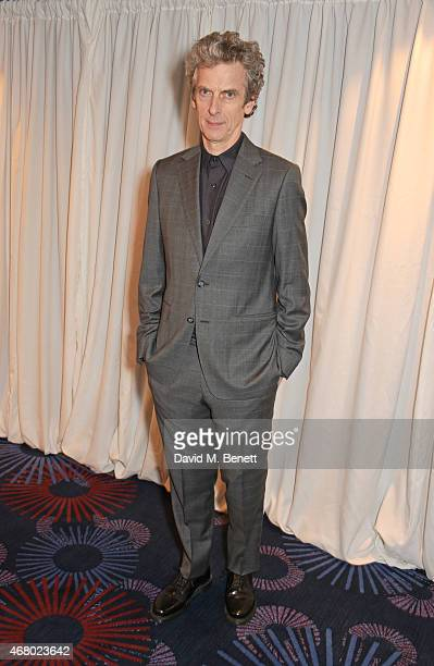 Peter Capaldi attends the Jameson Empire Awards 2015 at Grosvenor House on March 29, 2015 in London, England.