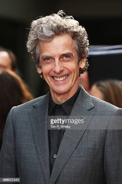 Peter Capaldi attends the Jameson Empire Awards 2015 at Grosvenor House Hotel on March 29, 2015 in London, England.