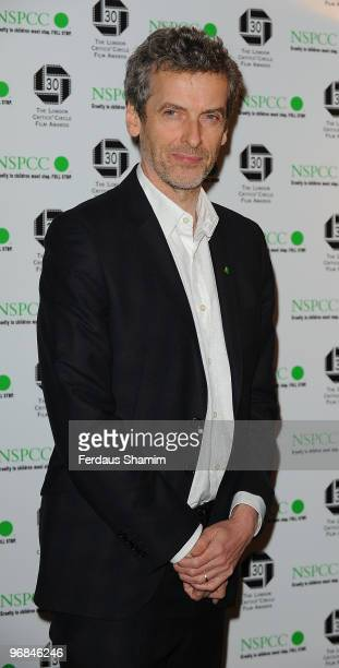 Peter Capaldi attends The London Critics' Circle Film Awards at The Landmark Hotel on February 18, 2010 in London, England.