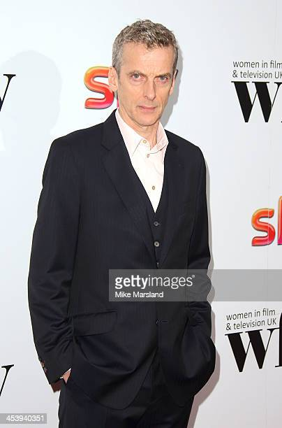 Peter Capaldi attends the Sky Women In Film and Television Awards luncheon at Hilton Park Lane on December 6, 2013 in London, England.