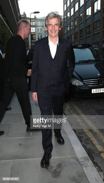 Peter Capaldi seen attending Nobu Hotel Shoreditch launch party on May 15 2018 in London England