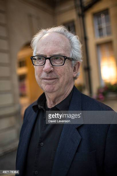 Peter Carey two time Booker Prize winning author at the Cheltenham Literature Festival on October 10 2015 in Cheltenham England