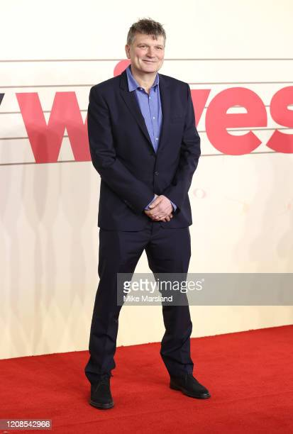 Peter Cattaneo attends the Military Wives UK Premiere at Cineworld Leicester Square on February 24 2020 in London England