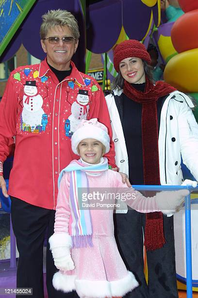 Peter Cetera and family during The 78th Annual Macy's Thanksgiving Day Parade at Manhattan in New York City New York United States