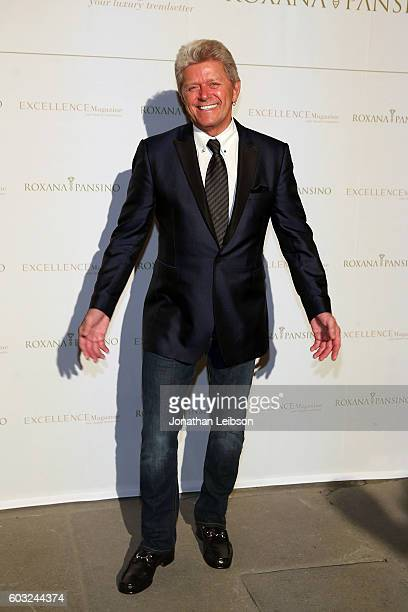 Peter Cetera attends the closing night reception at Salone del Tronoin Palazzo Corsini as part of Celebrity Fight Night Italy Benefiting The Andrea...