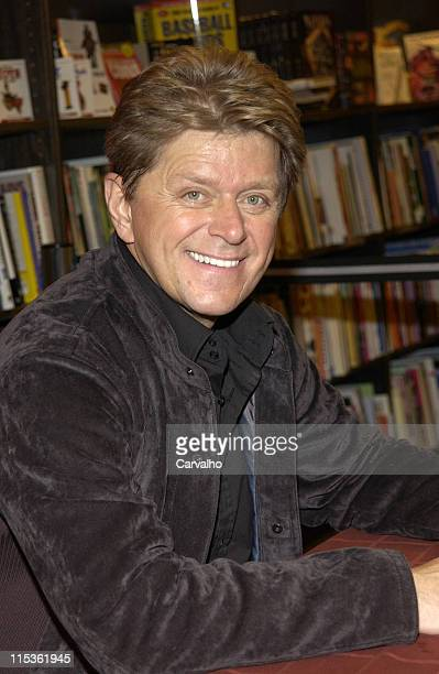 Peter Cetera during Peter Cetera Signs His CD You Just Gotta Love Christmas at Borders in New York City at Borders in New York New York United States