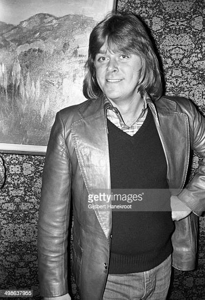Peter Cetera from US rock band Chicago posing in Amsterdam Netherlands in 1976
