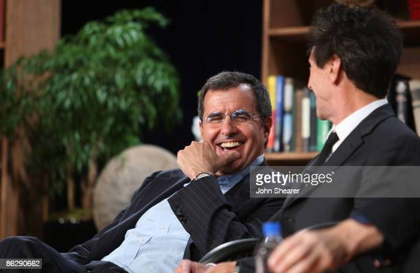 Peter Chernin and Brian Grazer attend the Milken Institute Global Conference at the Beverly Hilton Hotel on April 29 2009 in Beverly Hills California
