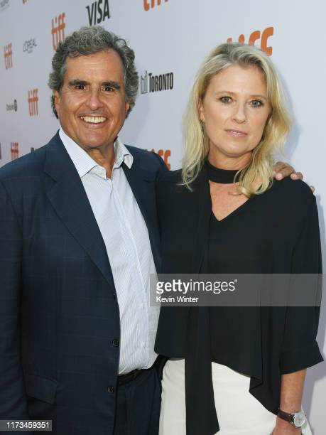 Peter Chernin and Jenno Topping attend the Ford v Ferrari premiere during the 2019 Toronto International Film Festival at Roy Thomson Hall on...