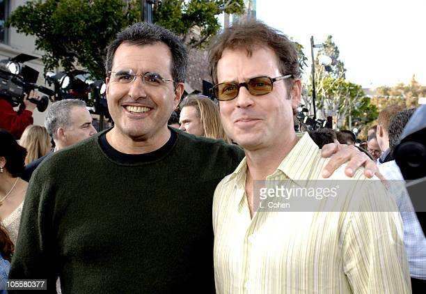 Peter Chernin, CEO/president of News Corp., and Greg Kinnear