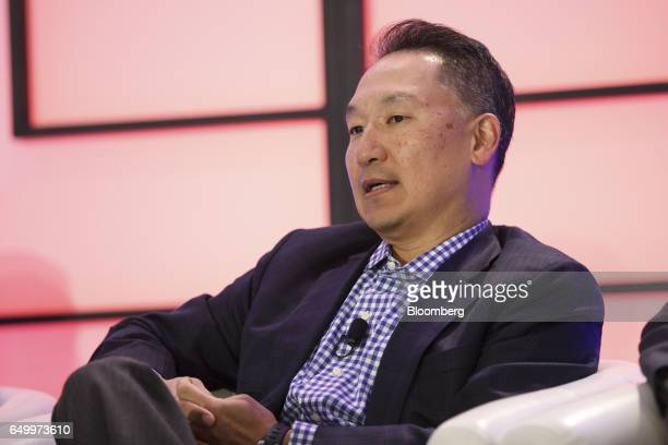 Peter Chung managing director and chief executive officer of Summit Partners speaks during The Montgomery Summit in Santa Monica California US on...