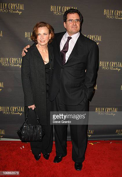 """Peter Churnin during Los Angeles Opening Night of The Tony Award Winning Broadway Show Billy Crystal """"700 Sundays"""" at Wilshire Theatre in Beverly..."""
