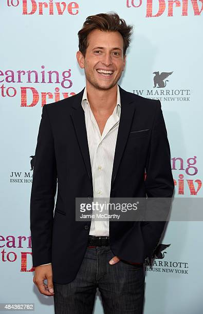 Peter Cincotti attends the New York premiere of 'Learning To Drive' at The Paris Theatre on August 17 2015 in New York City